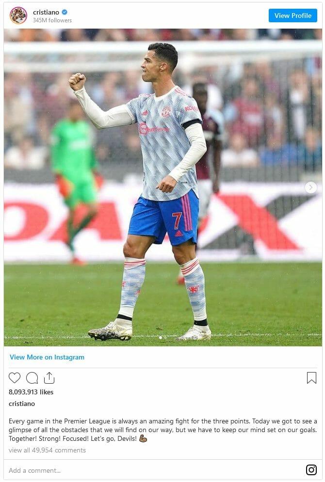 Screenshot 2021-09-20 at 10-24-32 Cristiano Ronaldo reacts to Manchester United win
